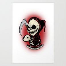 Baby Death Art Print