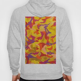 Crescent moon and birds Hoody