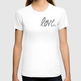Love Zentangle  T-shirt