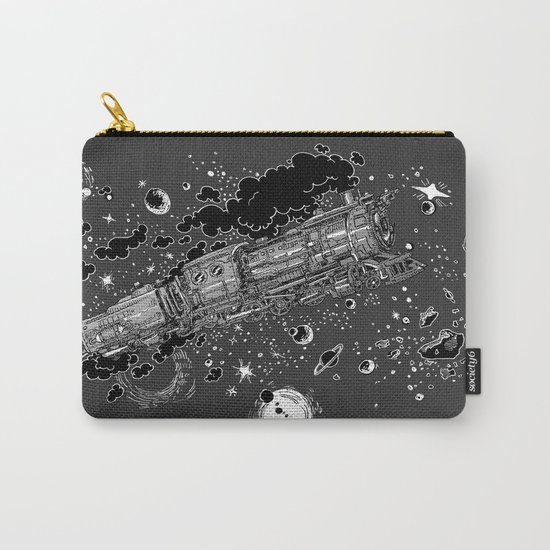 Space Train Carry-All Pouch