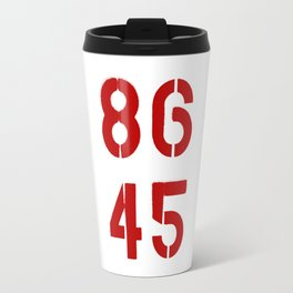 86 45 / Remove Trump Travel Mug