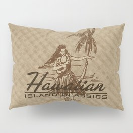 Tradewinds Hawaiian Island Hula Girl Pillow Sham