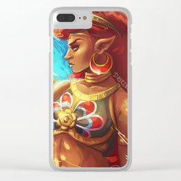 Lady Urbosa Clear iPhone Case