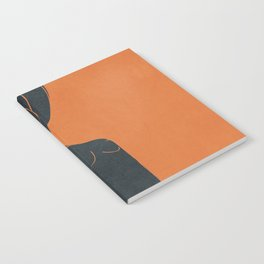 Abstract Nude IV Notebook