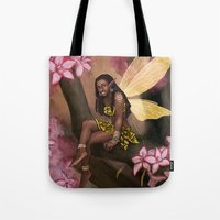 copper Tote Bags featuring Copper by Brandy Woods