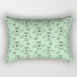 Happy Apples  Rectangular Pillow