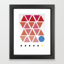 pattern no. 1 Framed Art Print
