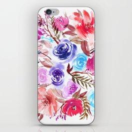 Almafi Floral iPhone Skin