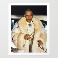 Fabulous Obama Art Print