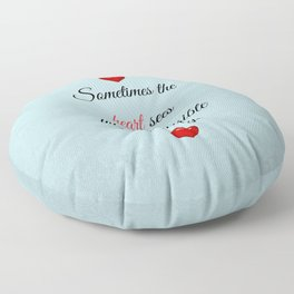 Saint Valentine's Day Floor Pillow