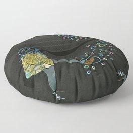 Kickin Up Shapes Floor Pillow