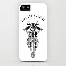 Ride The Machine iPhone Case