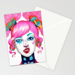 Not all clowns are Scary Stationery Cards