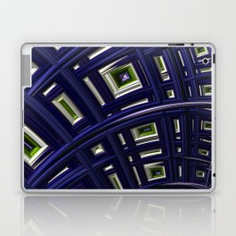 In The Frame Blue Laptop & iPad Skin