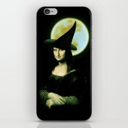 Mona Lisa Witchy Woman iPhone Skin