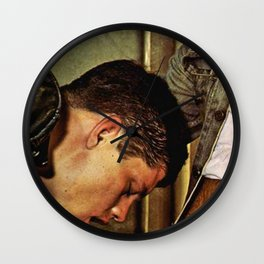 Only Friends Wall Clock
