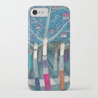 central park iPhone & iPod Cases featuring Central Park by kürtiandi