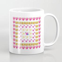 Emoji Hearts  Coffee Mug