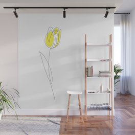 Spring Tulips Wall Mural