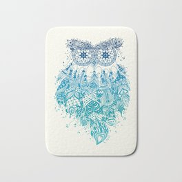 Blue Dream Catcher Bath Mat
