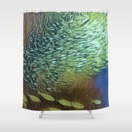 In the Fish Bowl II Shower Curtain