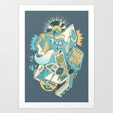 Stereochromatic Art Print