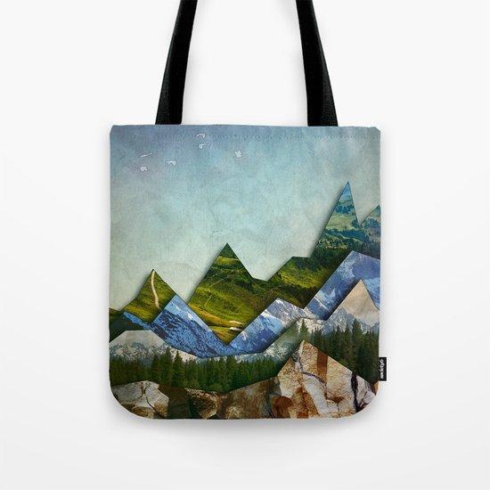 The Mountain Range Tote Bag