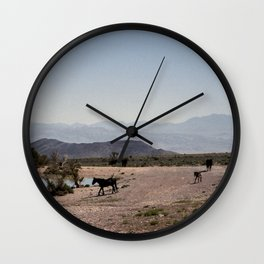 The Waterhole Wall Clock