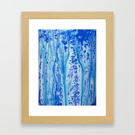 Color Melts Framed Art Print