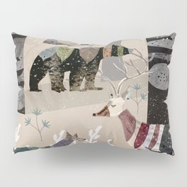 Forest in Sweater Pillow Sham
