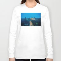 ukraine Long Sleeve T-shirts featuring Kamianets-Podilskyi Castle (Ukraine) by Limitless Design