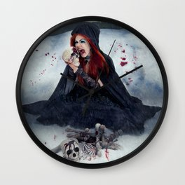 Destructive Desire Wall Clock