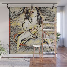 6170s-KD Mirror Reflections Erotic Art in the style of Wassily Kandinsky Wall Mural