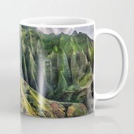 Na' Pali Spires, Kauai, Hawaii Coffee Mug