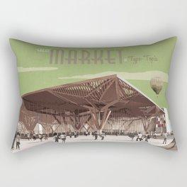 TypeTopia Market 1 Rectangular Pillow