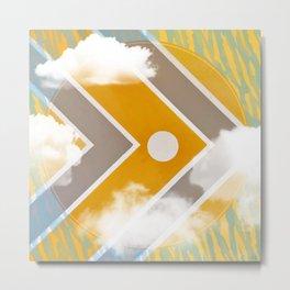 Fish - clouds Metal Print