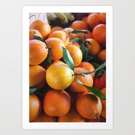 Beautiful Fruit - Oranges Art Print