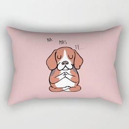 NAMASTE Beagle Rectangular Pillow