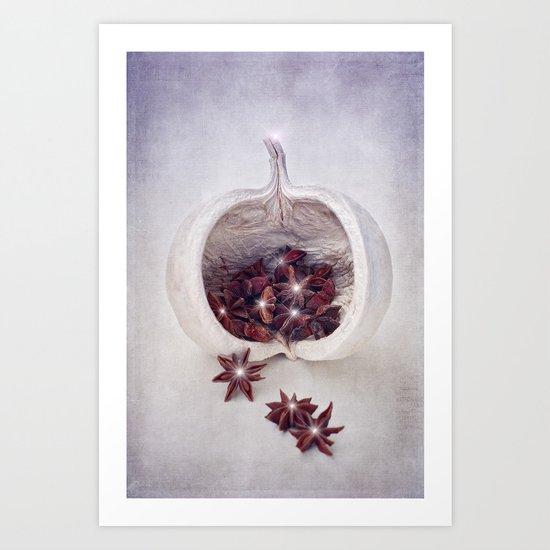 WINTER SECRETS II Art Print