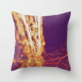 City (Light)s (Graffiti) 4 Throw Pillow
