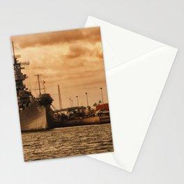 Battleship USS Missouri Stationery Cards