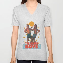 Boys on the Beach Unisex V-Neck