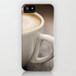 Creamy Coffee iPhone Case