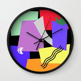 DON'T TOUCH Wall Clock