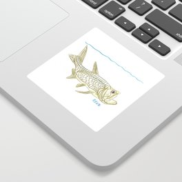 Key West Tarpon II Sticker