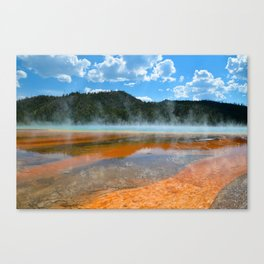 Grand Prismatic Pool - Yellowstone National Park, Wyoming Canvas Print