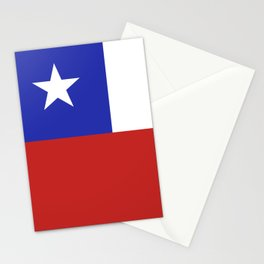 Chile flag emblem Stationery Cards