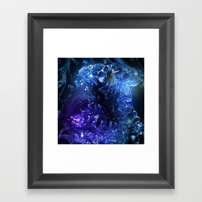 Syvyys Framed Art Print