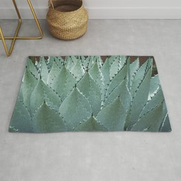 Agave Cactus in New Mexico Rug