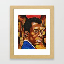 James Baldwin: The Fire Next Time Framed Art Print